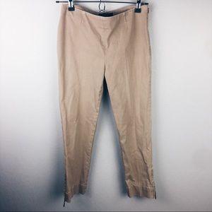 Lafayette 148 New York cropped khaki pants
